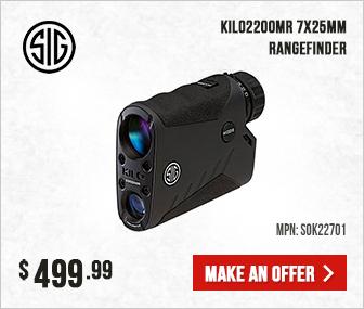 Sig Sauer KILO2200MR 7x25mm Rangefinding Monocular SOK22701