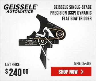 Geissele Single-Stage Precision (SSP) Dynamic Flat Bow