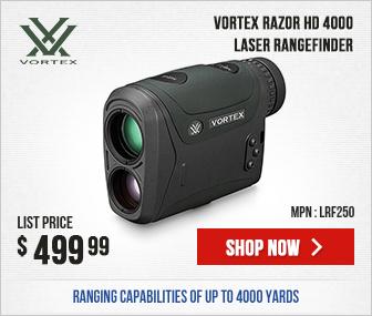 NEW Vortex Razor HD 4000 LRF