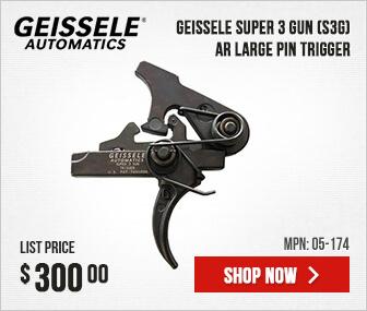 Geissele Super 3 Gun (S3G) - AR Large Pin Trigger