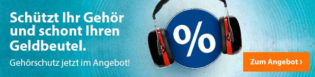 Gehörschutz jetzt im Angebot!
