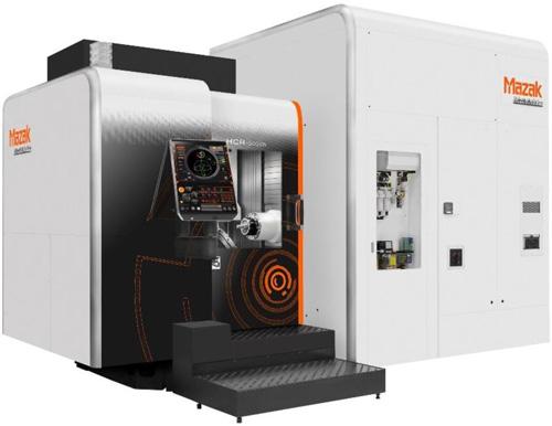 Horizontales 5-Achsen Bearbeitungszentrum Mazak HCR-5000S