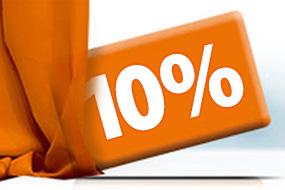 10% Rabatt zusätzlich bis zum 31.12.2017