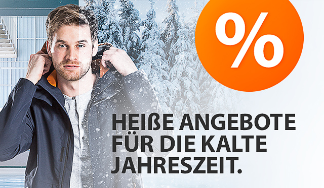 Heiße Angebote für die Kalte Jahreszeit.