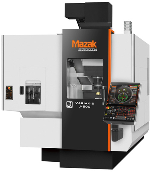 5-Achsenbearbeitung: Mazak Variaxis j-500