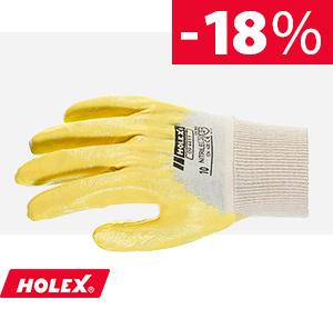 Baumwoll-Interlock-Handschuh
