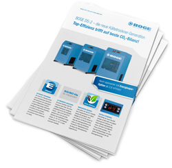 BOGE DS-2 – die neue Kältetrockner-Generation: Top-Effizienz trifft auf beste CO2-Bilanz!