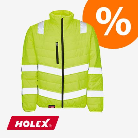 HOLEX Warnschutz-Isolationjacke gelb