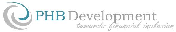 PHB Development, towards financial inclusion