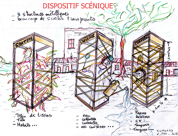 dispositif scénique