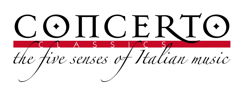 Concerto Classics logo - The five senses of Italian music