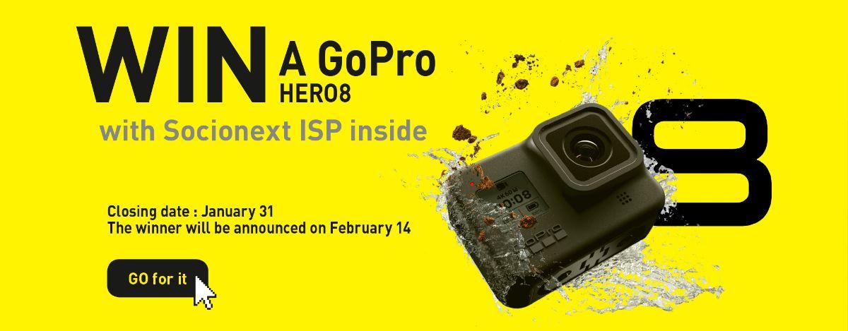 WIN a GoPro HERO8