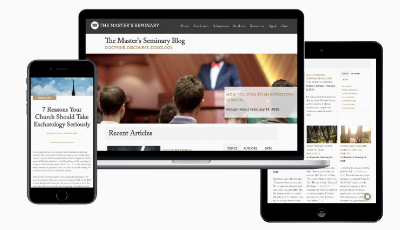 Subscribe to The Master's Seminary Blog