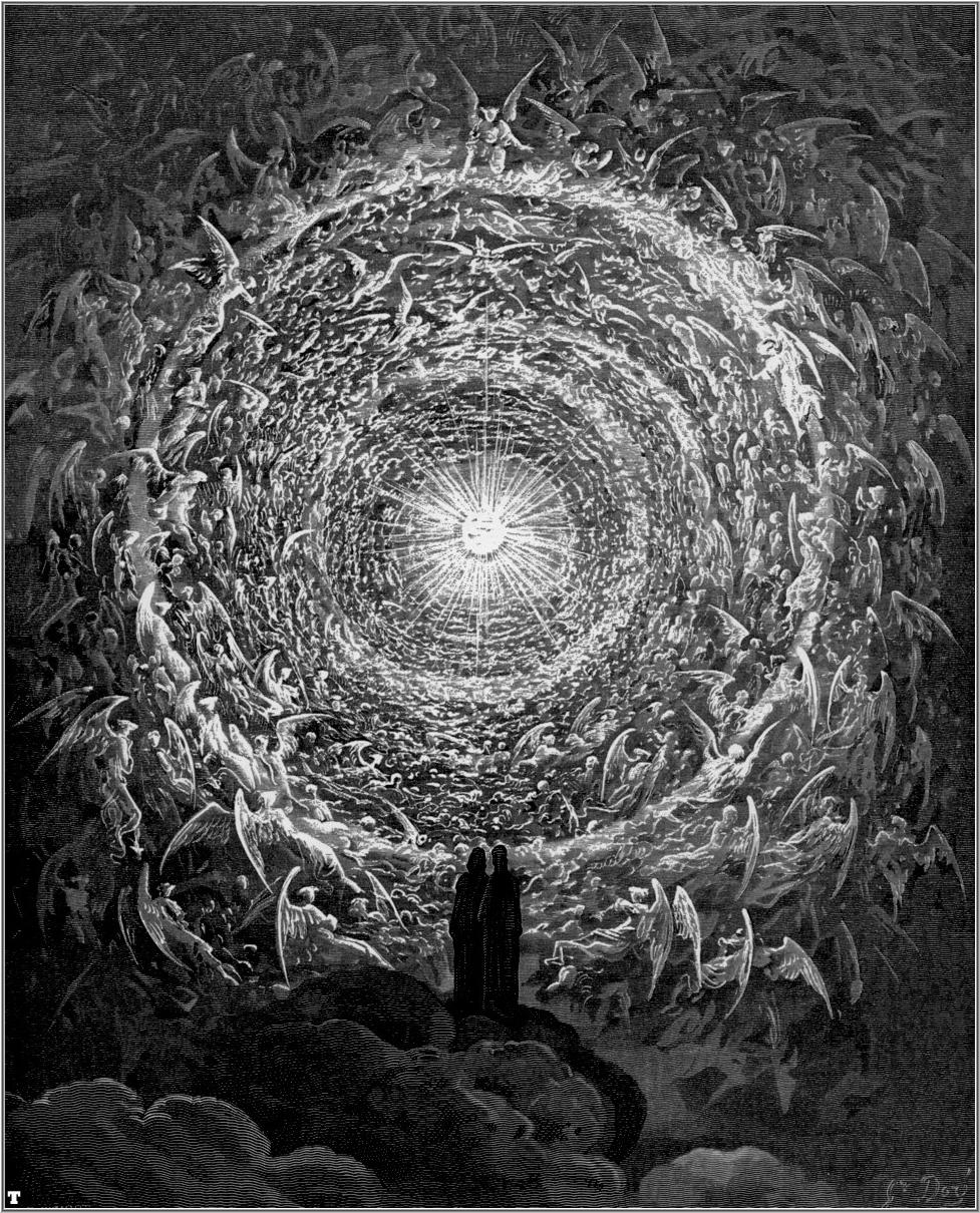 Gustave Dore's Paradiso