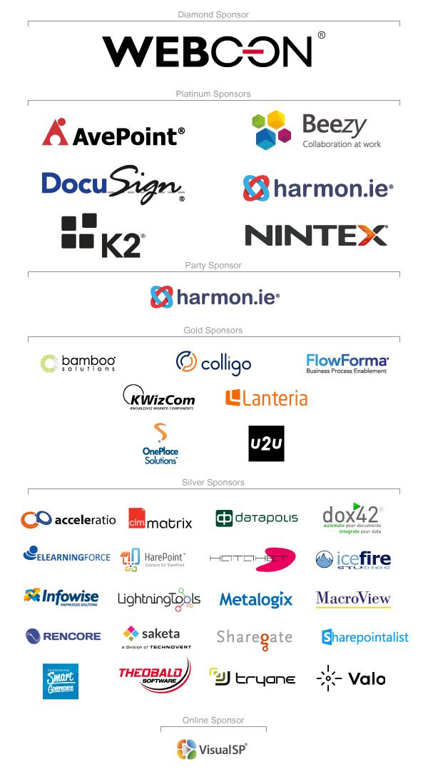 ESPC16 Sponsors