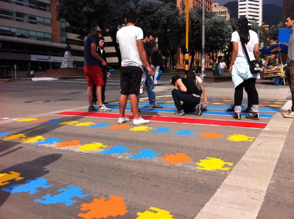 Un mouvement né à Bogota !