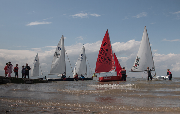 Potential New Sailors try Yachting at Whitstable Yacht Club