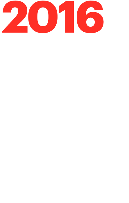2016 Projects of the Year