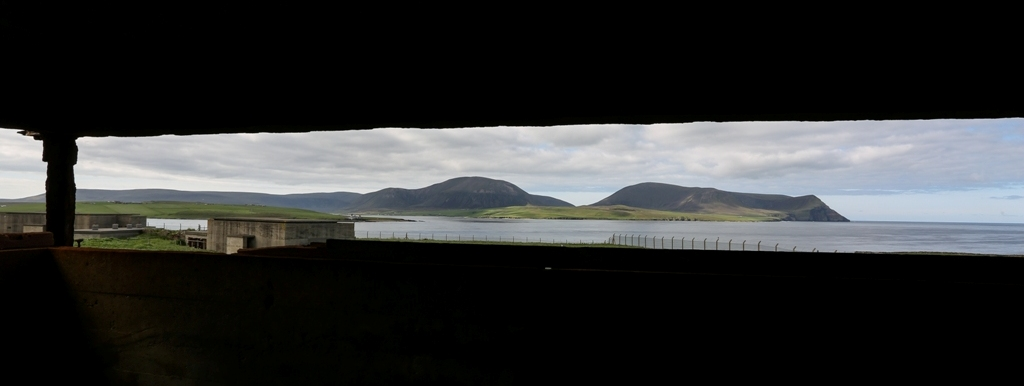 The view from Ness Battery in Orkney