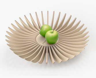 Lamellae Fruit Bowl