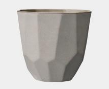Ceramic Mini Pot - Grey