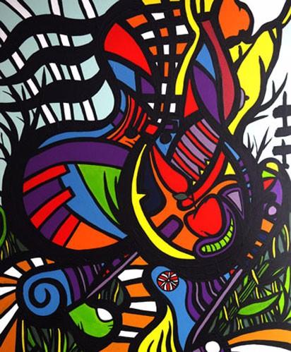 'CANDY APPLE' Artist Darren Trebilco
