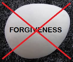 No Forgiveness Here!
