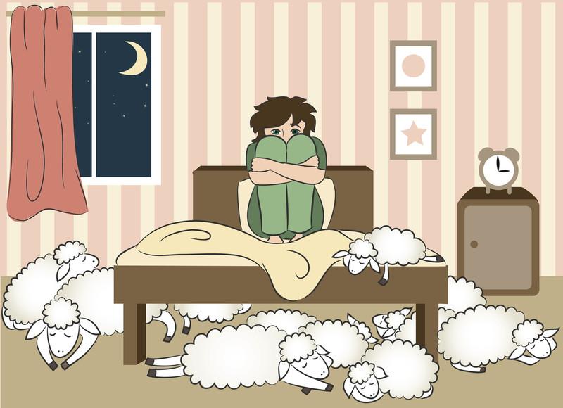 Sleeping Sheep with Insomniac