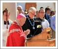 Archbishop Aquila and President McLean