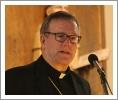 Bishop Barron gives his pep talk.