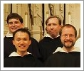 Br. Richard Berquist ('10) with his fellow novices