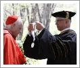 Cardinal O'Brien receives the Saint Thomas Aquinas Medallion