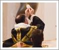 Fr. Paul Offers the Requiem Mass