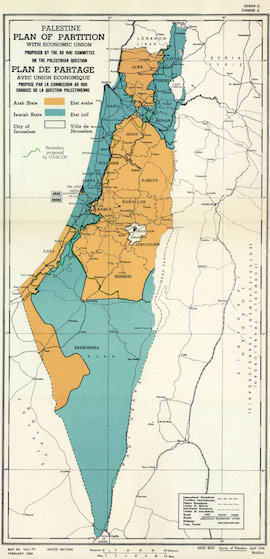 partition of palestine