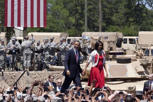 obamas at war