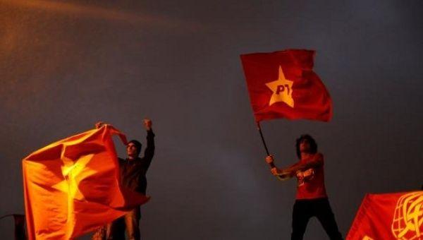 PT protests Brazil