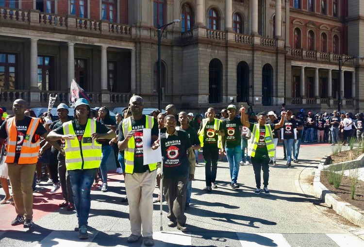 Amadiba Crisis at Pta high Court