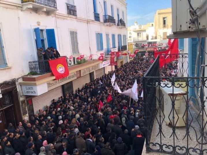 tunisian-unions