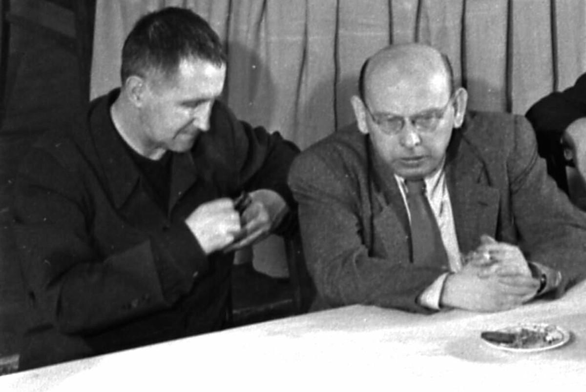 Brecht and Eisler
