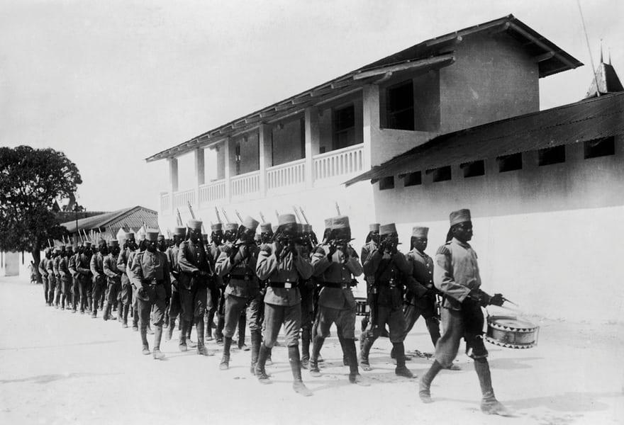 tanzanian troops
