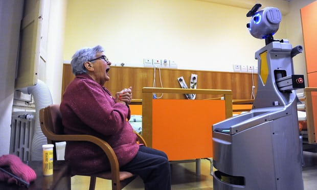 robot and granny