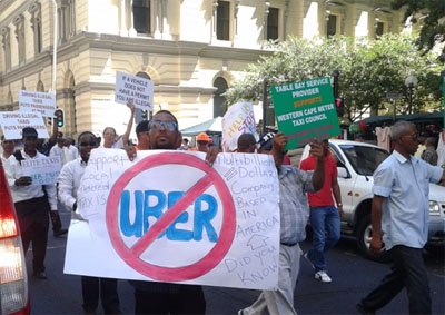 cape-toen-uber-protest