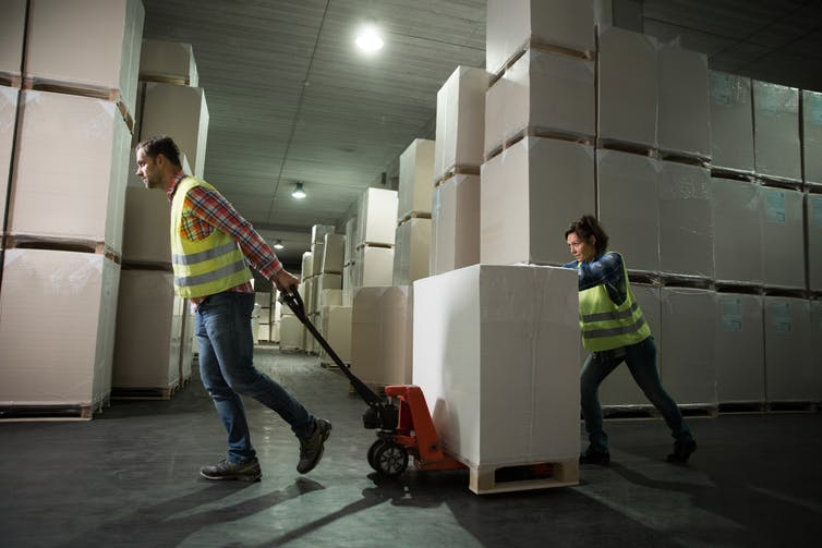 logistics work
