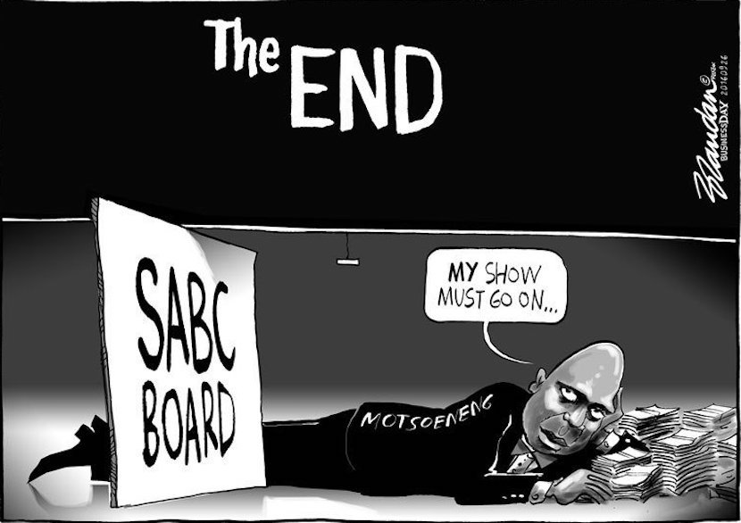 hlaudi cartoon