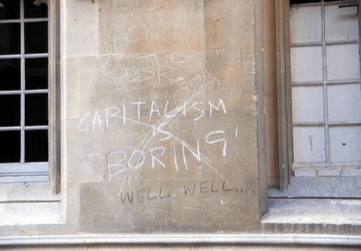 capitalism is boring