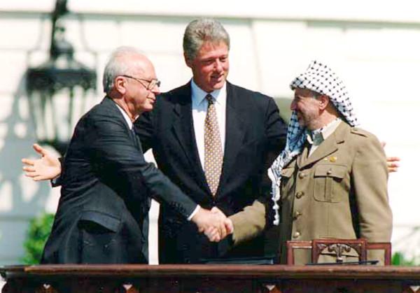 rabin clinton arafat