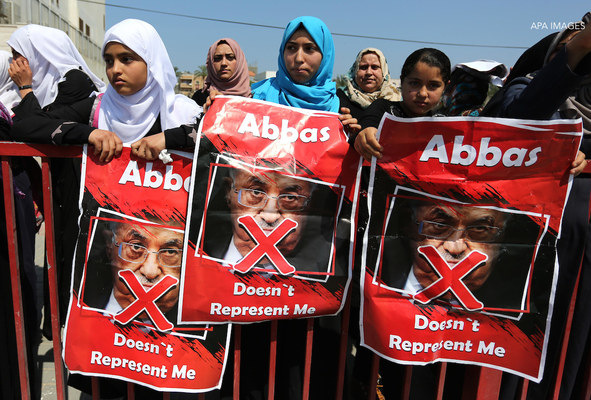 abbas doesn't represent me