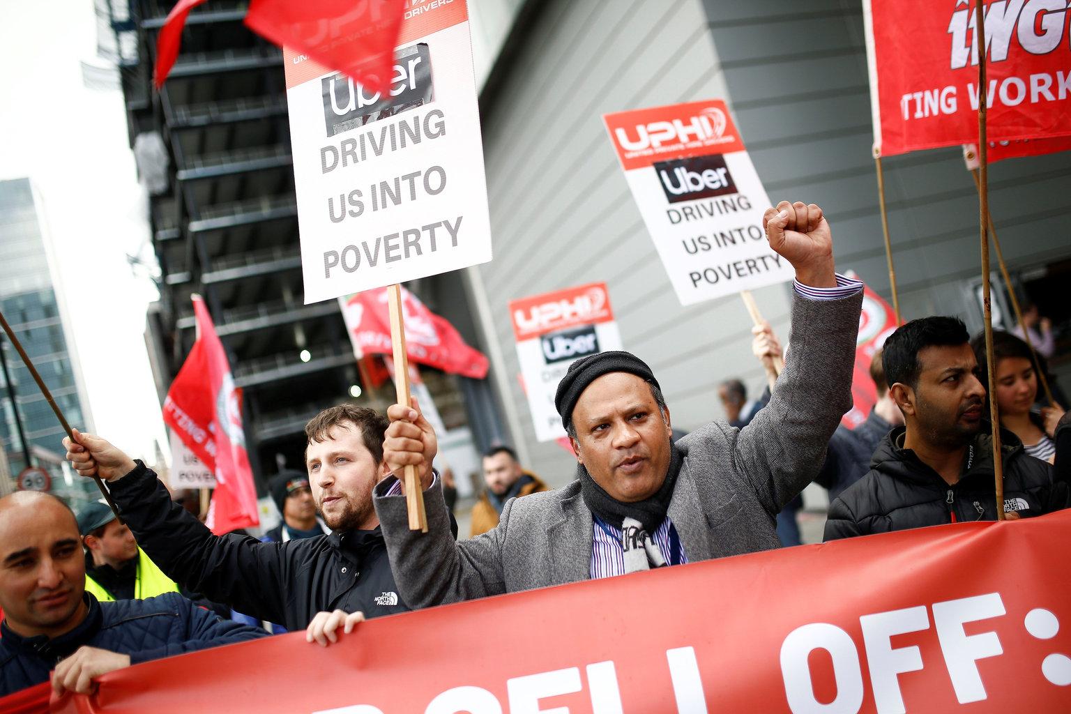 uber-drivers-strike
