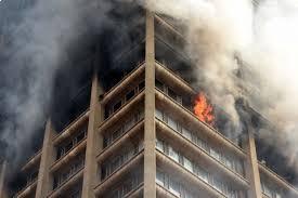 bank of lisbon blaze