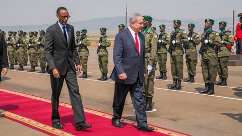 kagame-netanyahu